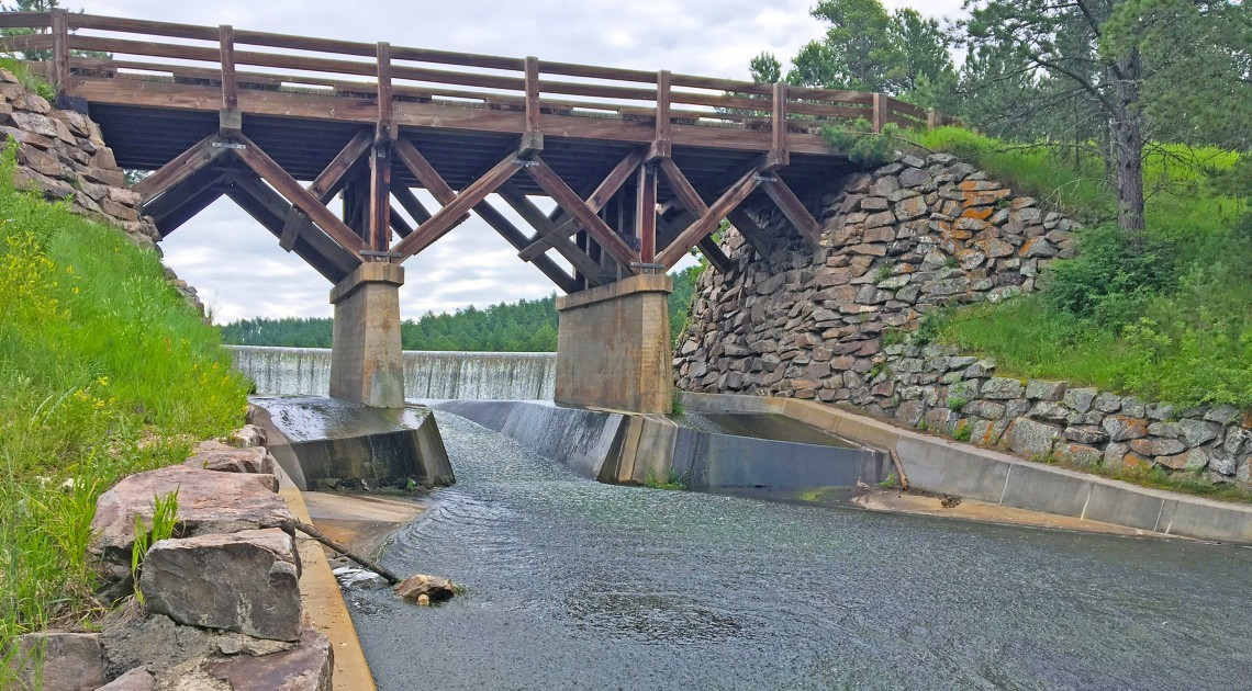 Game, Fish and Parks SW Division Dam Inspections